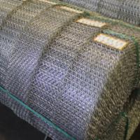 Zinc Coated Steel Crimped Wire Mesh