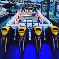 Quad Seven Marine Outboard