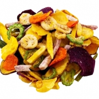 Mix Dried Fruits And Vegetables