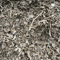 Fragmentized Scrap From Incineration