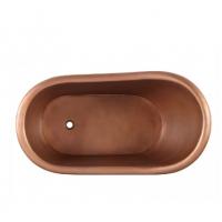 Smooth Copper Bathtub