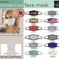 2 Ply Cotton Printed Mask