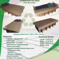 Corrugated Bed
