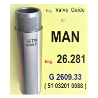 Valve Guides For Diesel - Gas Engines