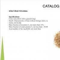 Wheat Bran For Animal