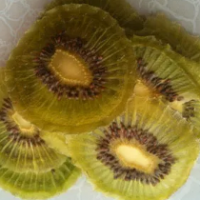 Dehydrated Kiwi Fruits Slice
