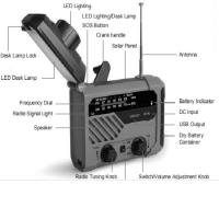 XLN-290WB - Hand Crank Solar Radio