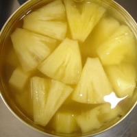 Canned Pineapple Slice, Pieces