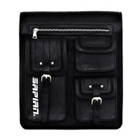 Vegan Leather Messenger/Backpack