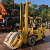 Used Diesel Forklift Roll Clamp