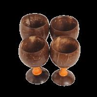 Coconut Shell Crockery ( Wine Glass)