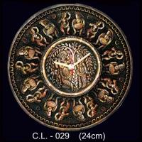 Terracotta Handcrafted Clock