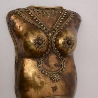 Bastar Art (Brass Woman Chest Armour )