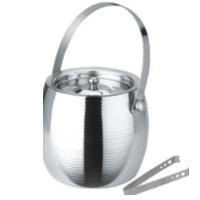 Steel Ice Bucket With Tong