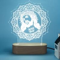 Jesus Acrylic LED Lamp
