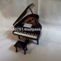 Miniature Piano Dolls House Partiture Chair