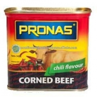 Corned Beef 340 g Canned Meat Pronas Chili