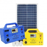 Portable Solar Lighting System with  Panel