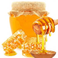 100% Pure  Natural Bee Raw Honey