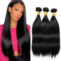 Natural Unprocessed  Weave Brazilian Human Hair