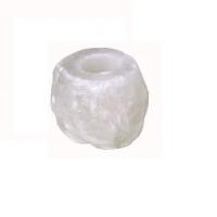 Himalayan White Salt Candle Holder