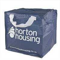PP Woven 90ltr Storage Bag With Zipper