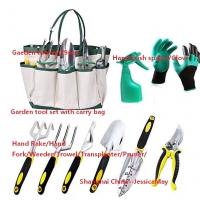 Garden Tool Set With Carry Bag