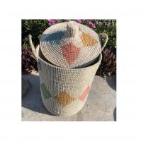 Bamboo Laundry Storage Basket From Vietnam
