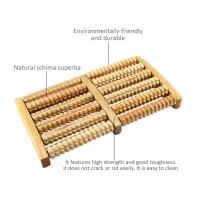 Wooden Wheels Foot Massager