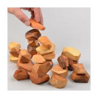 Wood Balancing Stones Children Toys