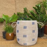 Seagrass Handmade Cotton Rope Storage Basket