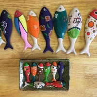 Wooden Fish Painting Toy For Kid