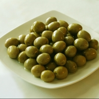 Fresh Olives Black And Green