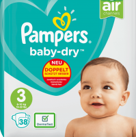 Pamper Baby-dry Disposable Baby Diaper