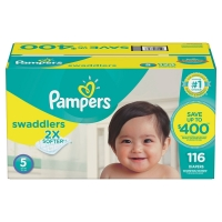 Pamper Baby Dry Nappies
