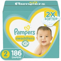 Pampers Baby-Dry Diapers Size 3 168 Count