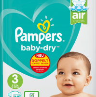 Small Medium And Large Baby Diapers
