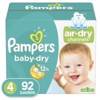 Cheap Pampering Soft Breathable Tape Diaper