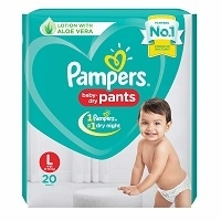Pampers Baby Diapers Active Size 3