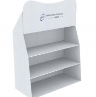 Corrugated Counter Stand Displays