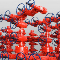 X-mas Tree Oil Drilling