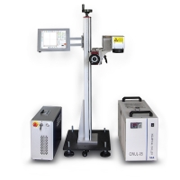 5w Uv Laser Flying Marking Machine Equipment