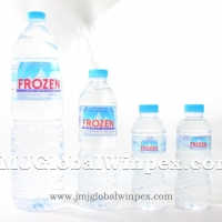 Frozen Mineral Water