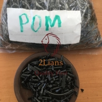 POM Regrind Black Color Full Container Available