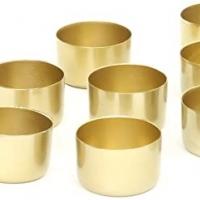 Brass T-Light Modern Design