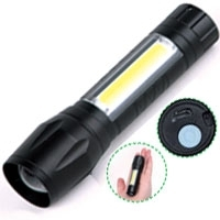 Zoomable Mini Led Flashlight