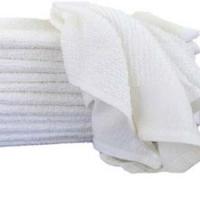 Barmop - Plain Terry White Towel
