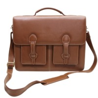 Men Leather Executive Office Briefcase