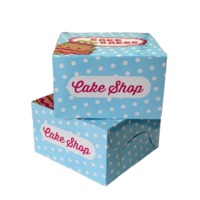 Cake And Pastry Box