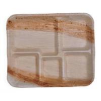 Areca Leaf Compartment Plates - Square